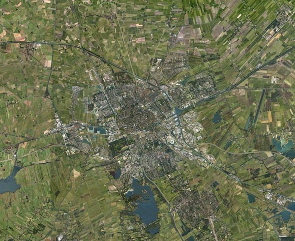 Groningen Netherlands  city pictures gallery : The Compact City: Groningen, Netherlands source: google maps